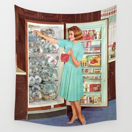 Party Prep Wall Tapestry