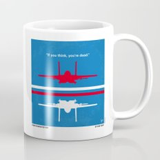 No128 My TOP GUN minimal movie poster Mug