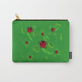 Lucky Lady Bugs of Lucky Seven Carry-All Pouch