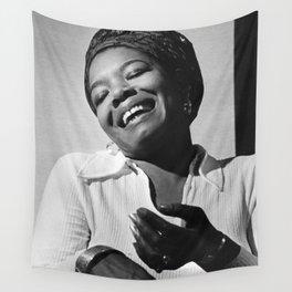 Maya Angelou - Black Culture - Black History Wall Tapestry