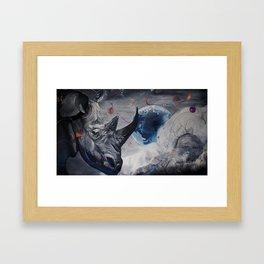 Regards from Eternity. Framed Art Print
