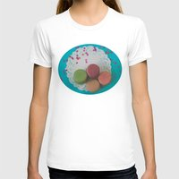 macarons T-shirts featuring Macarons by Jessica Torres Photography