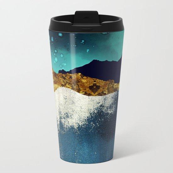 Evening Stars Metal Travel Mug
