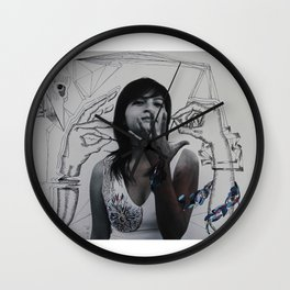 intervention 5 Wall Clock