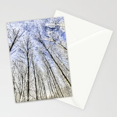 Snow Trees Stationery Cards