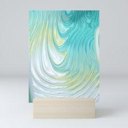 Teal Dreams Collection (2) - Fractal Art  Mini Art Print