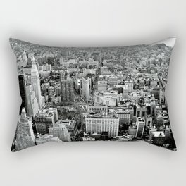 NEW YORK CITY # Black&White Rectangular Pillow