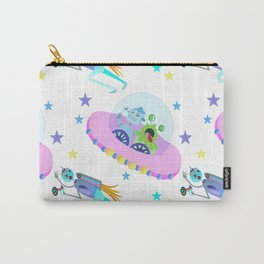 Outerspace Traffic Jam Carry-All Pouch