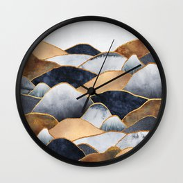Hills 2 Wall Clock