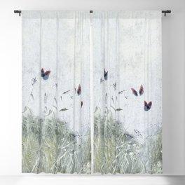 A Spell for Creation - butterflies amongst grass Blackout Curtain