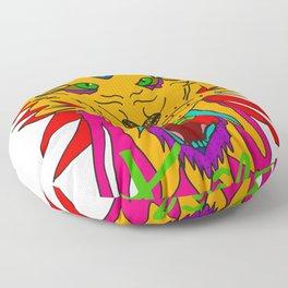 wizard lion Floor Pillow