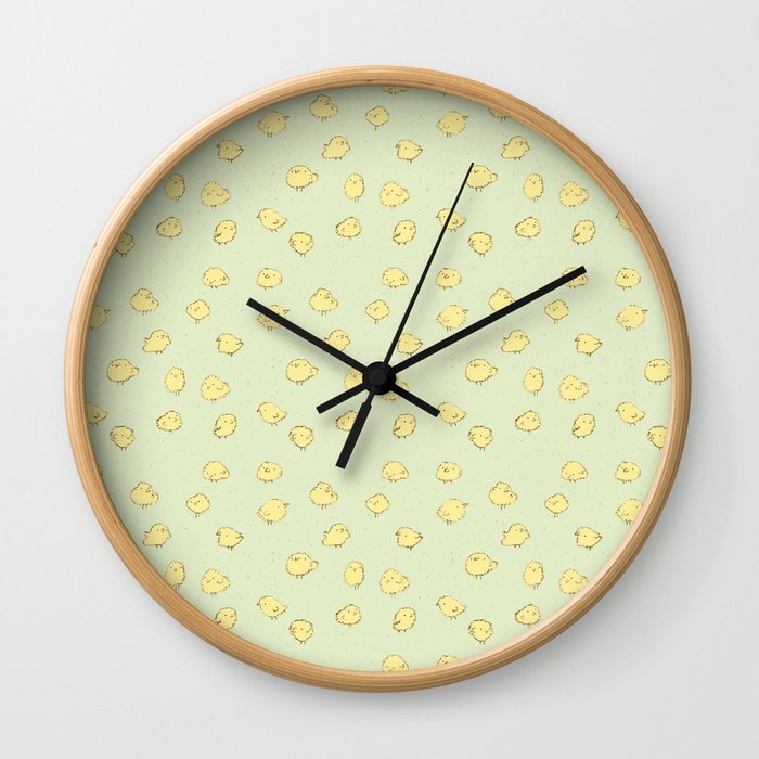 Chicks Wall Clock