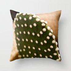 Fluffy Dots Throw Pillow