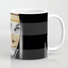 Leonardo da Vinci's Lady with a Ermine & Audrey Hepburn Coffee Mug