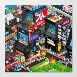 GAMECITY Canvas Print