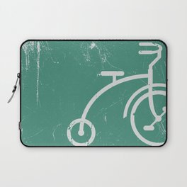 Grunge bicycle Laptop Sleeve