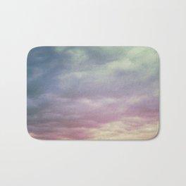 Pastel Clouds Bath Mat