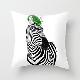 Zeb Punk Throw Pillow