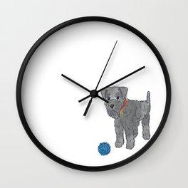 Kerry Blue Terrier Wall Clock