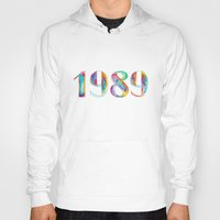 1989 Hoodies featuring 1989 by Christina Guo