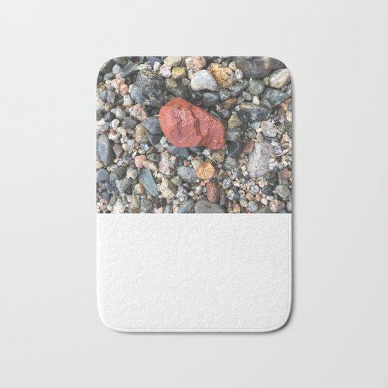 Little Rocks from the Beach Bath Mat