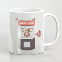 gizmo Mugs featuring Dunk Gizmo by Phil Jones