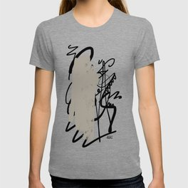 Ink draw T-shirt