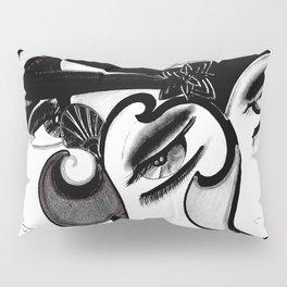 ART DECO MOD DOLLY FLAPPERS  TRIO Pillow Sham