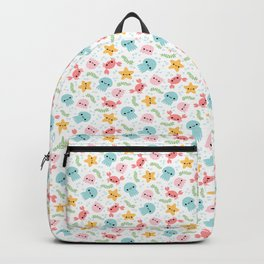 Happy Sea Creatures Backpack