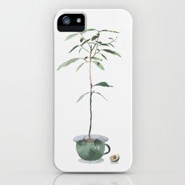 Avocado Tree iPhone Case