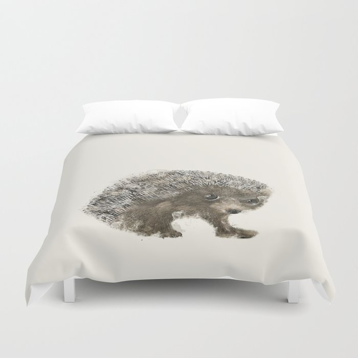 Little Hedgehog Duvet Cover