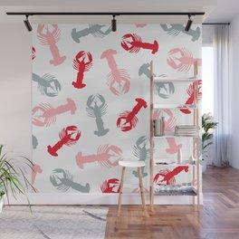 Lobsters 02 Wall Mural