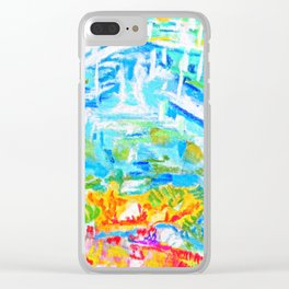 the mirage Clear iPhone Case