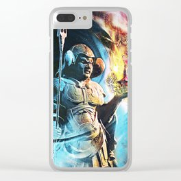Jintsu and the Dragons Clear iPhone Case
