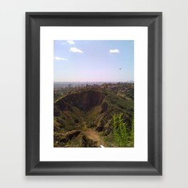This is Los Angeles Framed Art Print