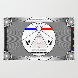 New World Order TV Test Pattern. Rug