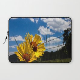 A Rocky Mountain Sunflower Laptop Sleeve