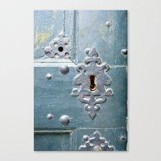 Old lock Canvas Print