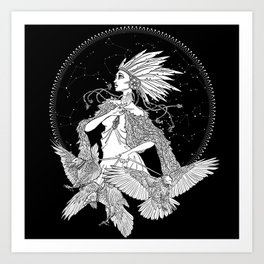 The Raveness Art Print