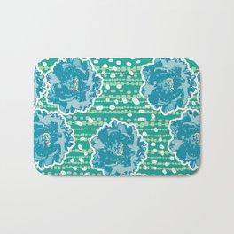 green garden1 Bath Mat