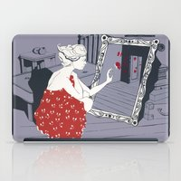 mirror iPad Cases featuring mirror by liva cabule