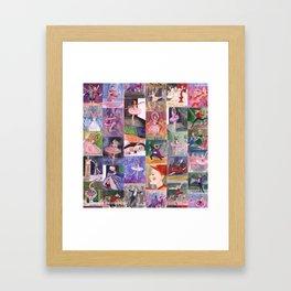 Nutcracker Pattern Framed Art Print
