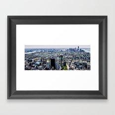 NYC - City Veins Framed Art Print