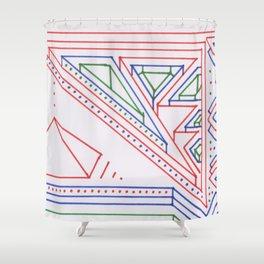 PowerLines 27 Shower Curtain