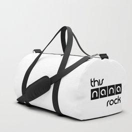 This Nana Rock Duffle Bag
