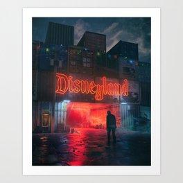 MAGIC KINGDOM 2072 (everyday 07.31.18) Art Print