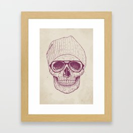 Cool skull Framed Art Print