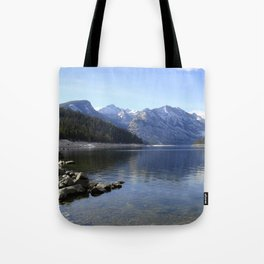 Como Lake Tote Bag