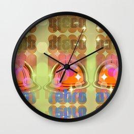 Disco Retro Wall Clock