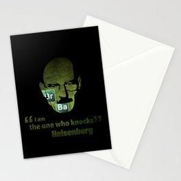 I am the one who knocks! Breaking Bad Stationery Cards